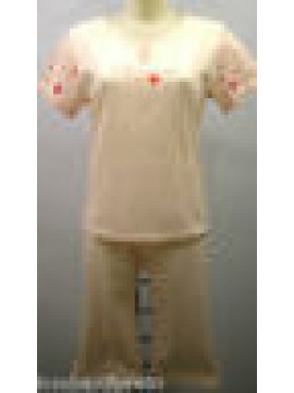 PIGIAMA PINOCCHIETTO DONNA PAJAMAS WOMAN PIJAMA RAGNO N74504 T.44 COL.CONCHIGLIA