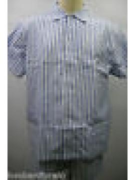PIGIAMA UOMO CORTO APERTO DANDY PAJAMAS MAN RAGNO SPORT N64164 T.4 COL.496 RIGHE