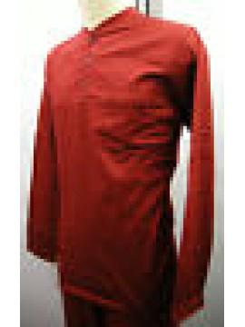 PIGIAMA UOMO PAJAMAS MAN PIJAMA RAGNO N62989 T.7 COL.428F FANTASIA G ROSSO RED