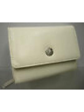 PORTAFOGLIO WALLET CARTERA DONNA LANCETTI LLD5412 C.22 BIANCO WHITE REGALO GIFT
