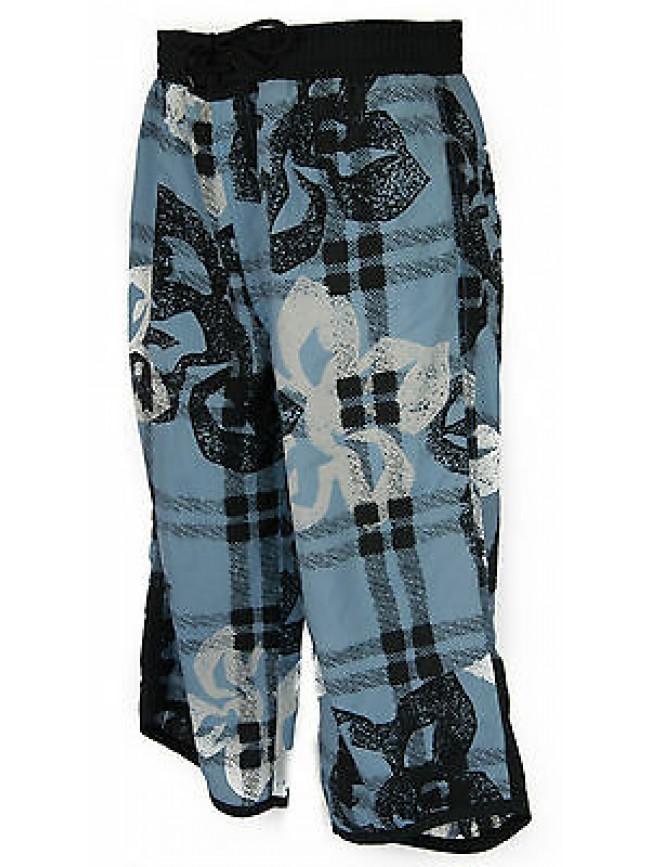Pantalone bermuda uomo beachwear LOTTO art. D5442 taglia XL colore TIT FIORI