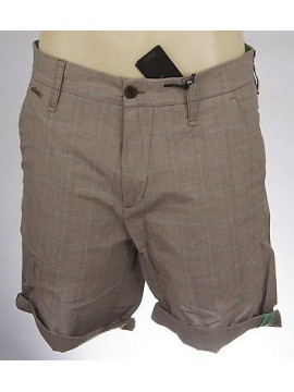 Pantalone corto bermuda cotone uomo pants GUESS art.M42D14 W5070 T.36 col.L811