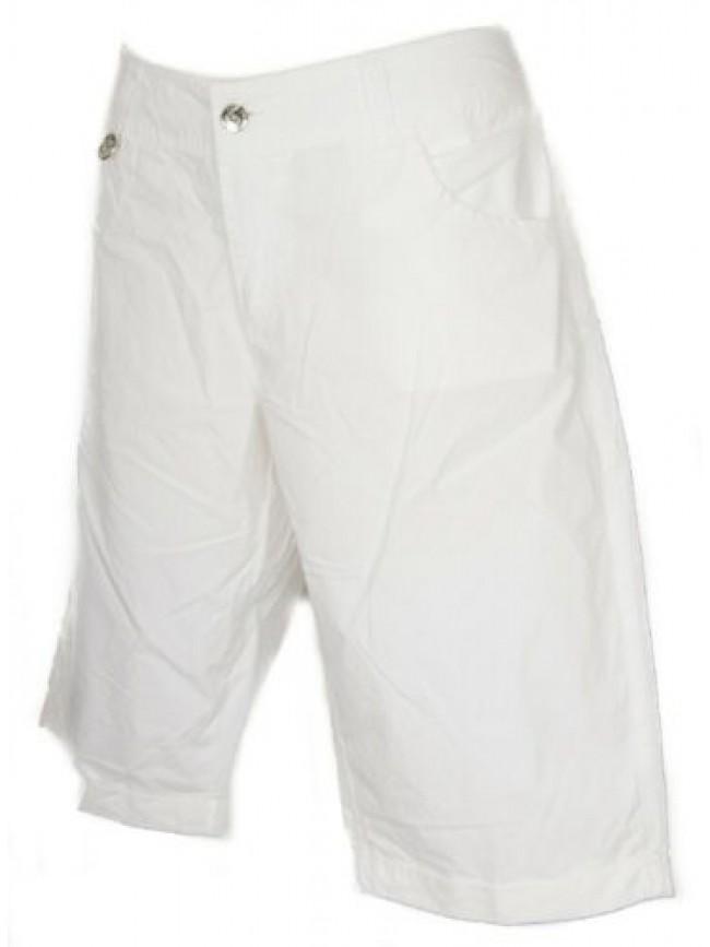 Pantalone corto bermuda donna cotone KEY-UP articolo 51T17