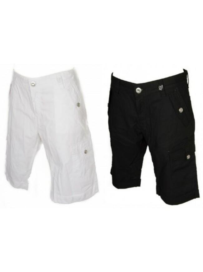 Pantalone corto bermuda donna cotone KEY-UP articolo 5737T
