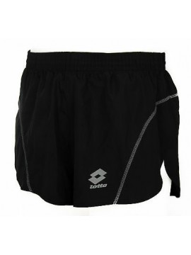 Pantalone corto runner uomo short LOTTO art. L0695 taglia XL col. NERO BLACK