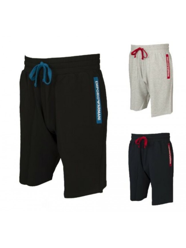 Pantalone corto uomo con tasche bermuda shorts sport EMPORIO ARMANI articolo 111