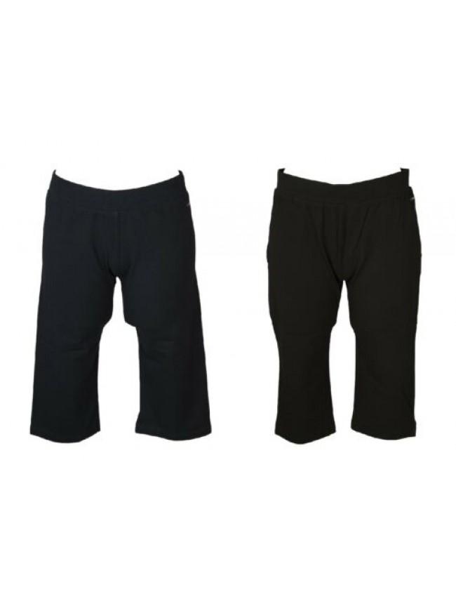 Pantalone donna cotone pescatora  jersey stretch estivo comodo sportivo CAMPAGNO