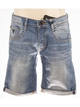 Pantalone jeans bermuda uomo pants GUESS art.M42D18 D1CP0 T.38 col.vang