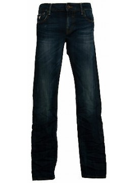 Pantalone jeans skinny uomo zip GUESS a.M44AN1 D1N90 taglia 40 col.CAMN