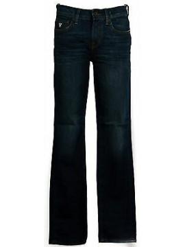Pantalone jeans skinny uomo zip GUESS a.M44AN2 D1N80 taglia 42 col.BLVE