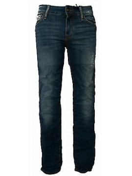 Pantalone jeans skinny uomo zip GUESS a.M52AN2 D1SH0 taglia 29 colore AGRE