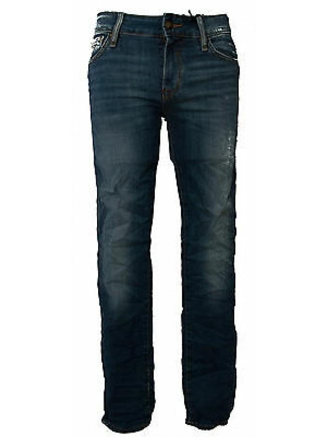 Pantalone jeans skinny uomo zip GUESS a.M52AN2 D1SH0 taglia 31 colore AGRE