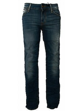 Pantalone jeans skinny uomo zip GUESS a.M52AN2 D1SH0 taglia 42 colore AGRE