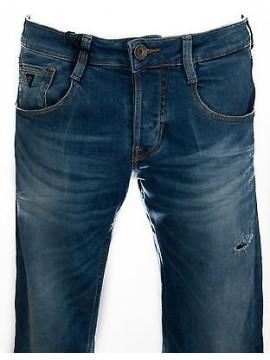 Pantalone jeans slim uomo GUESS a.M51AS3 D1P40 taglia 29 col.TOWE BLUE