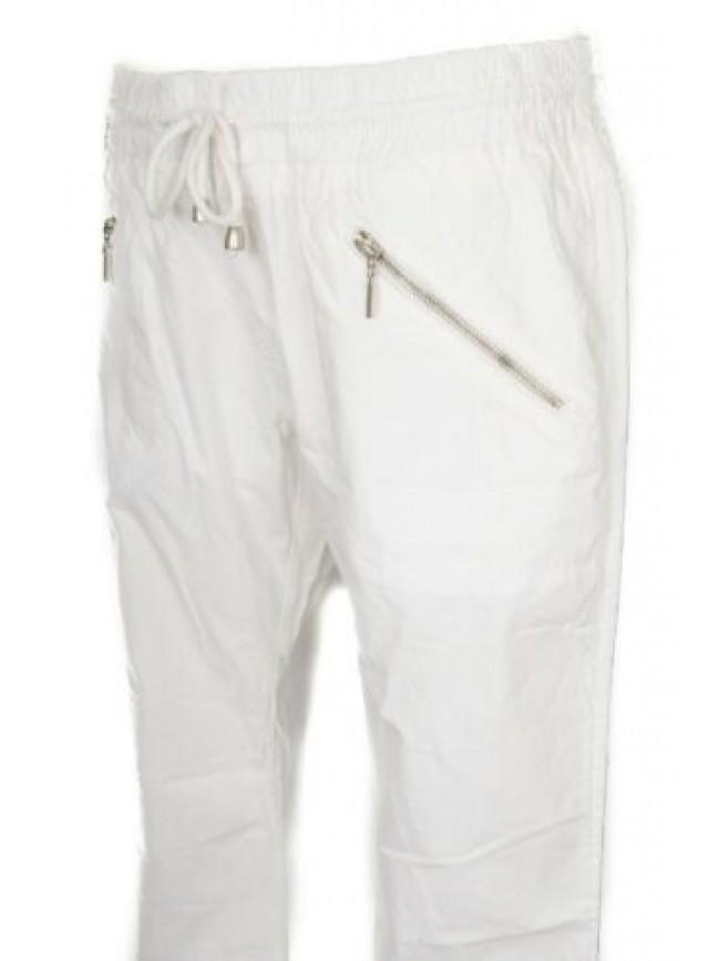 Pantalone lungo sport tempo libero donna cotone KEY-UP articolo 51T05