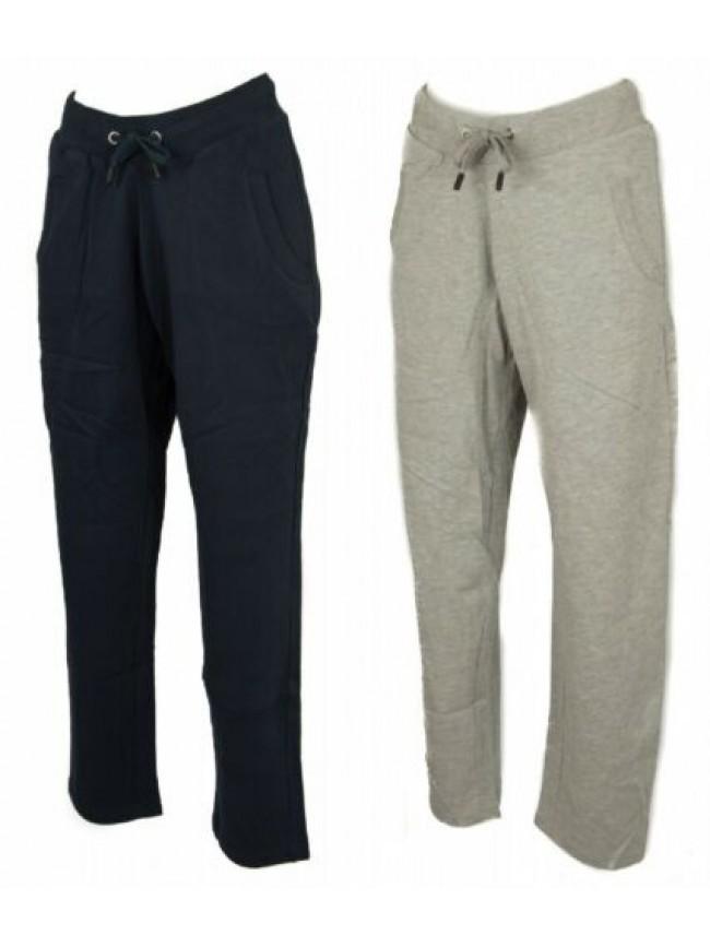 Pantalone lungo sport tempo libero donna pantaloni cotone con tasche DATCH artic
