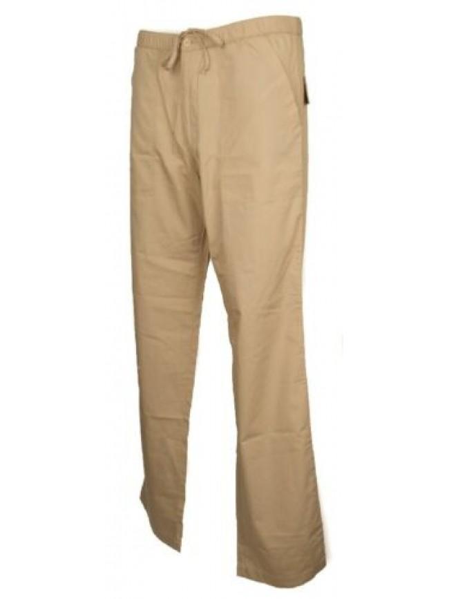 Pantalone lungo sport tempo libero uomo con tasche cotone KEY-UP articolo 262P P