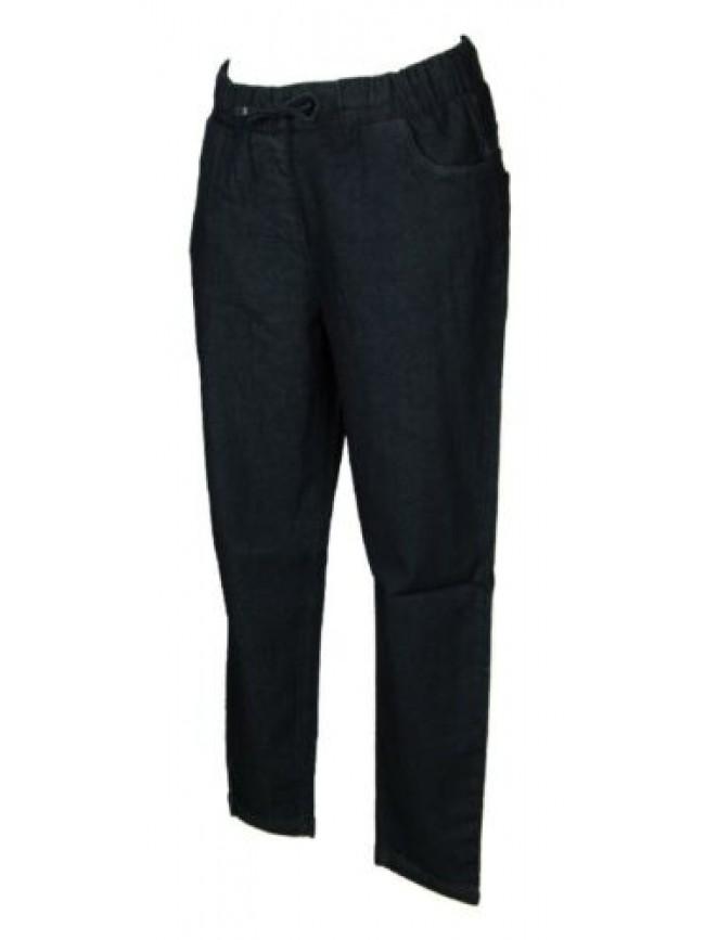 Pantalone lungo tempo libero pantaloni comfort in denim donna RAGNO articolo D66