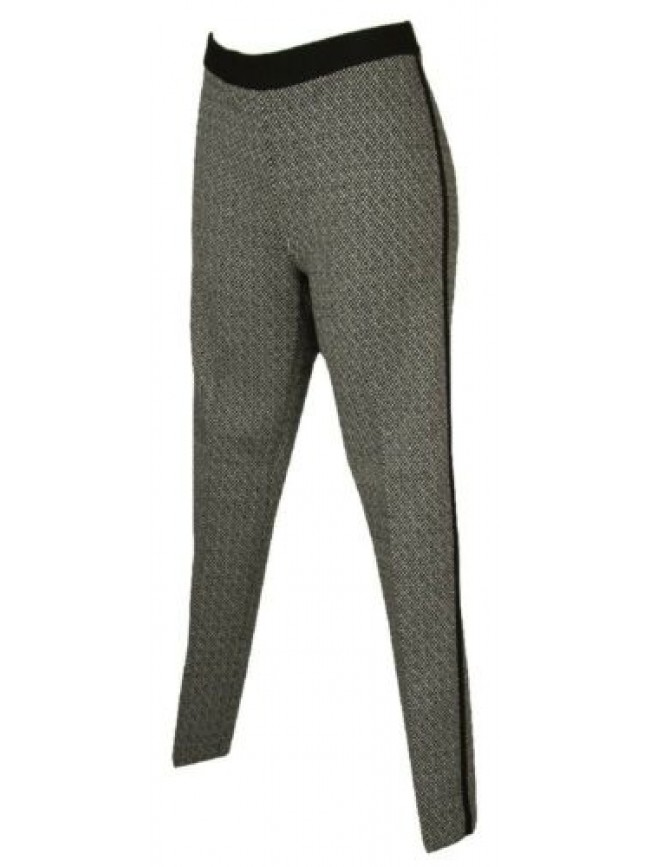 Pantalone lungo tempo libero pantaloni comfort in jacquard donna RAGNO articolo