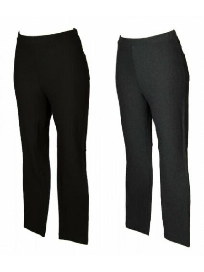 Pantalone lungo tempo libero pantaloni comfort in jersey donna RAGNO articolo D8