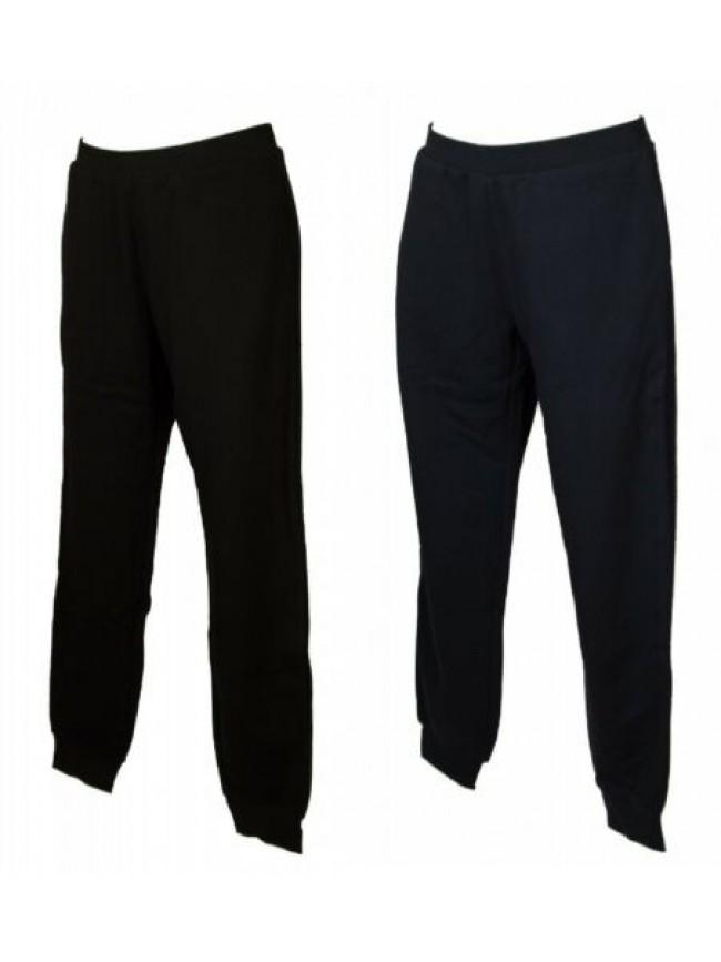 Pantalone lungo tempo libero pantaloni cotone donna loungewear EMPORIO ARMANI ar