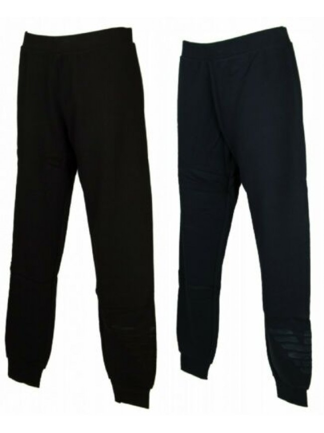Pantalone lungo tempo libero pantaloni donna cotone loungewear EMPORIO ARMANI ar