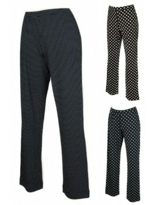 Pantalone lungo tempo libero pantaloni donna in jersey viscosa RAGNO articolo 70