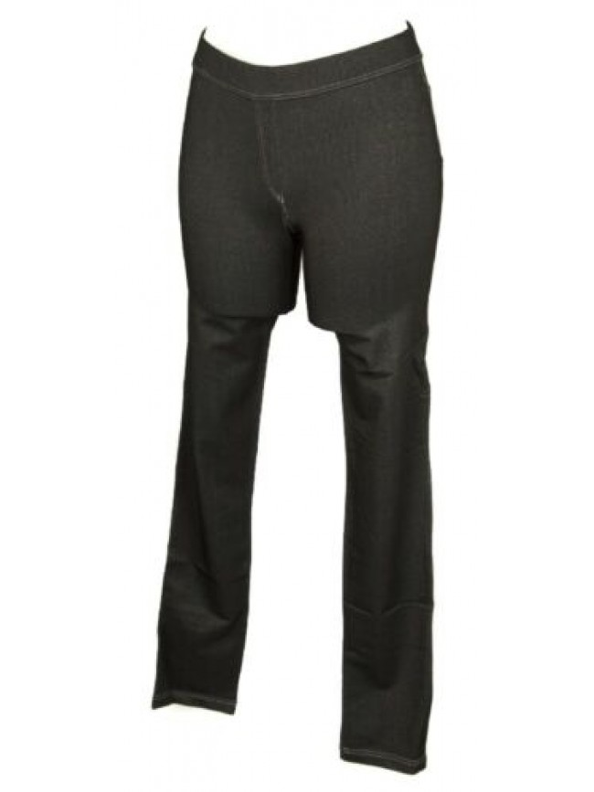 Pantalone lungo tempo libero pantaloni jeans elastico stretch push up donna RAGN