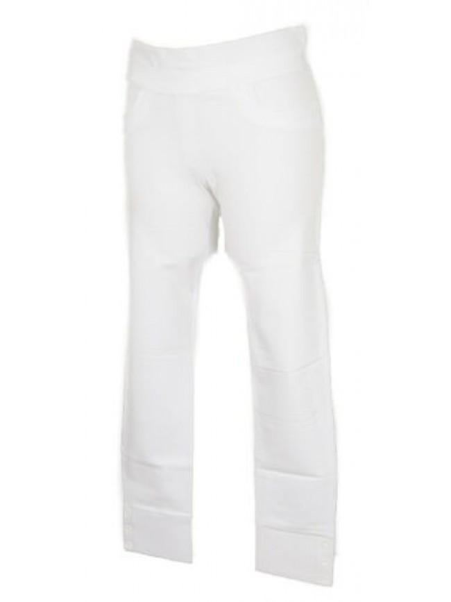 Pantalone lungo tempo libero pantaloni stretch donna cotone RAGNO articolo 70104