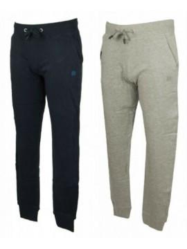 Pantalone lungo tuta cotone due tasche pantaloni sport tempo libero uomo DATCH a