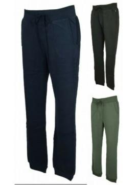 Pantalone lungo tuta cotone due tasche sport tempo libero uomo DATCH articolo HU