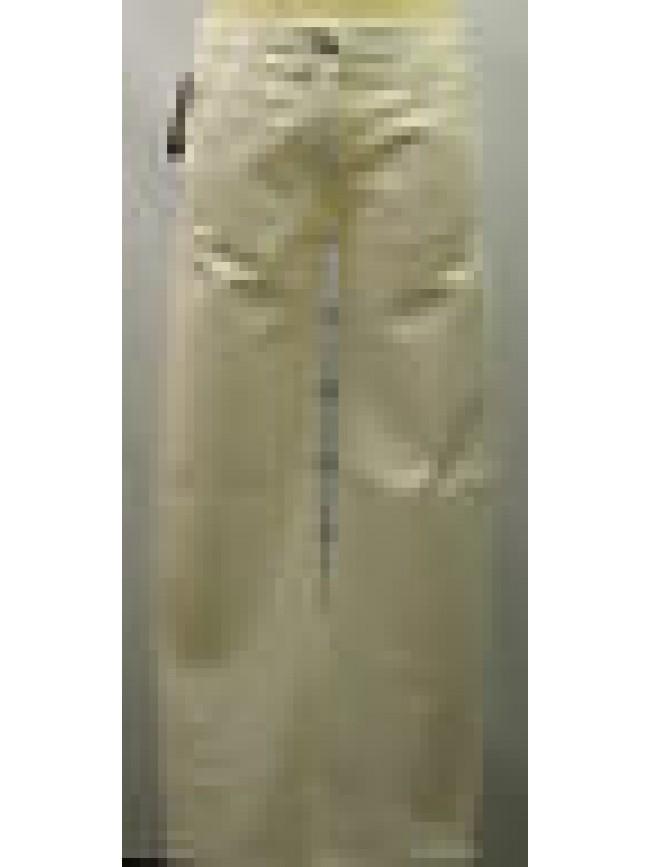 Pantalone velluto donna velvet pants ARMANI JEANS a.C5P40CT T.29/43 avorio ivory