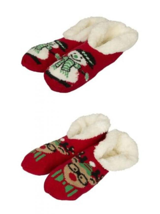 Pantofola ciabatta babbuccia casa uomo suola antiscivolo interno pelo homewear C