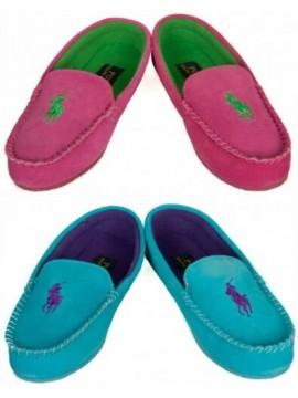 Pantofola ciabatta babbuccia mocassino casa donna homewear POLO RALPH LAUREN art
