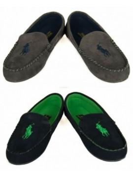 Pantofola ciabatta babbuccia mocassino casa uomo homewear POLO RALPH LAUREN arti