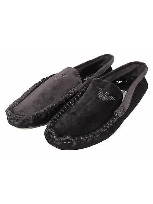 Pantofola ciabatta mocassino EMPORIO ARMANI a.111400 3A577 T.40 col.00020 nero