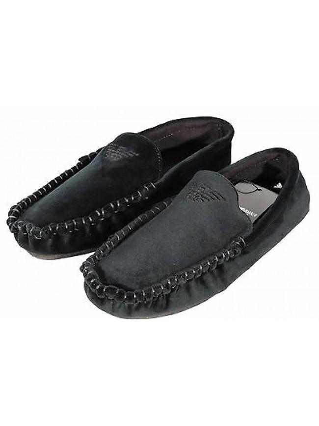 Pantofola ciabatta mocassino EMPORIO ARMANI art.111400 3A577 T.40 col.02181 alga
