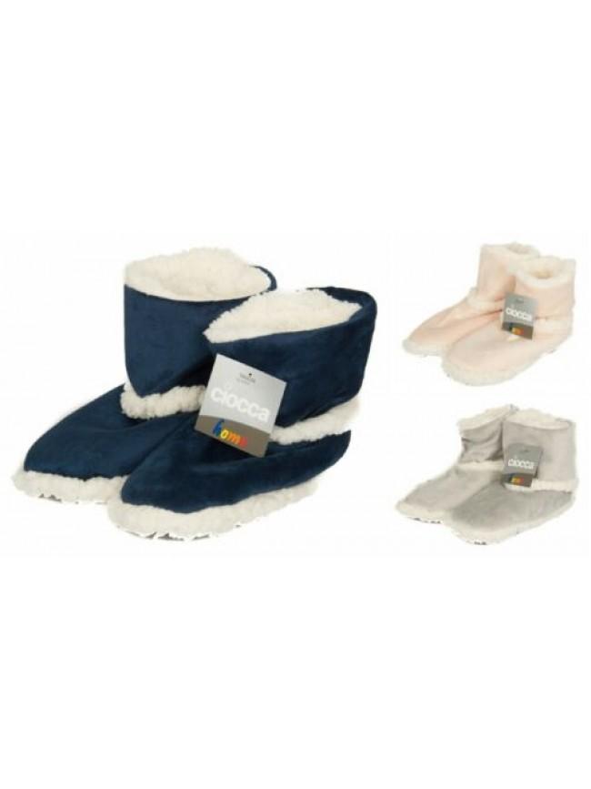 Pantofola stivaletto casa donna antiscivolo calzino CIOCCA articolo 795/2A