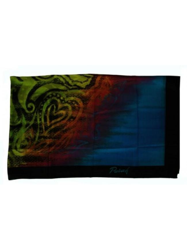 Pareo foulard mare spiaggia donna beachwear PARAH articolo 1595 9999 Made in Ita