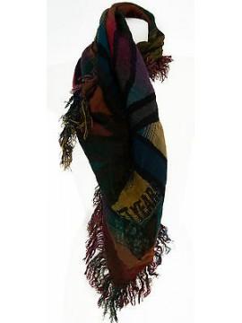 Pashmina scialle sciarpa scarf SWEET YEARS a.JC3647 col.2 BOTTIGLIA Italy
