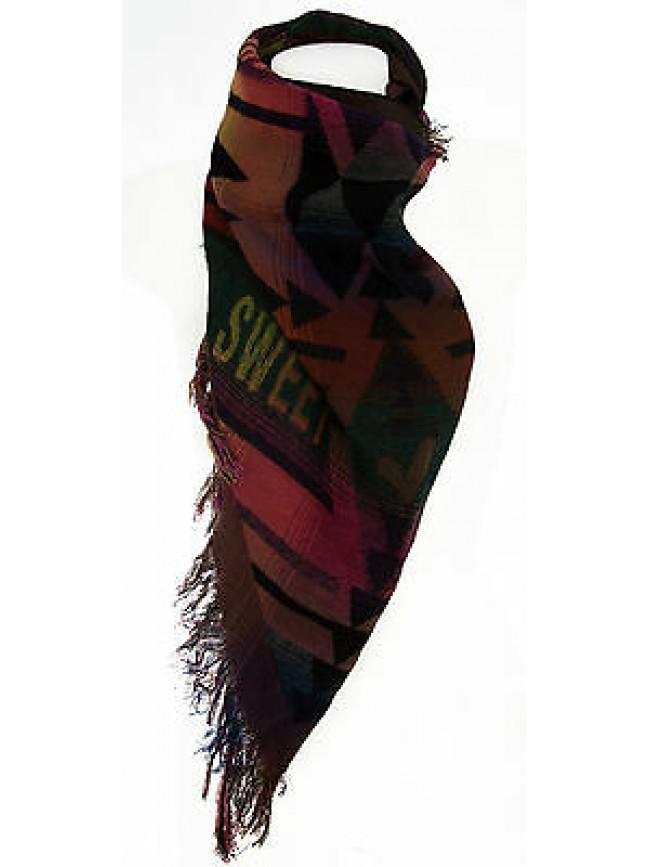 Pashmina scialle sciarpa scarf SWEET YEARS a.JC3648 col.2 BOTTIGLIA Italy