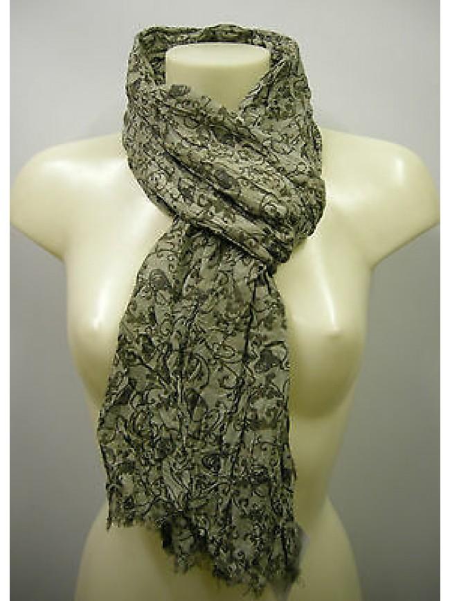 Pashmina sciarpa scarf SWEET YEARS a.LF39 col.3 verde green teschio skull Italy