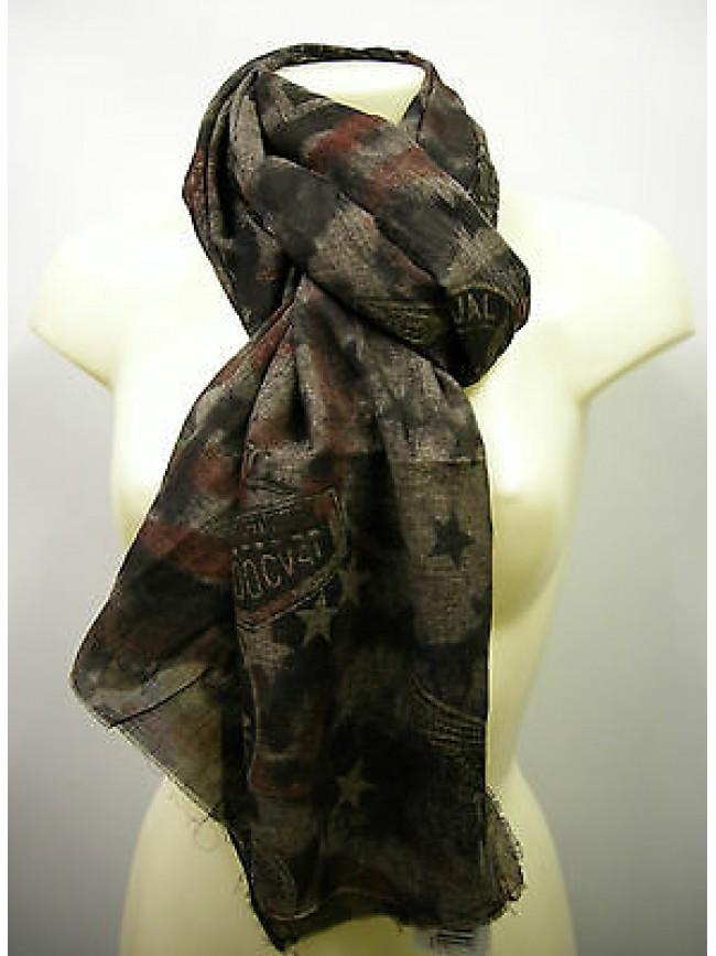 Pashmina sciarpa scarf SWEET YEARS art.LF32 colore 5 marrone brown Italy