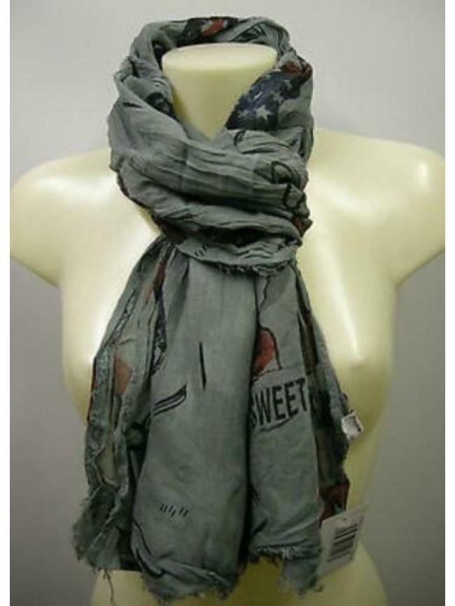 Pashmina sciarpa scarf SWEET YEARS art.LF51 colore 2 grigio grey Italy