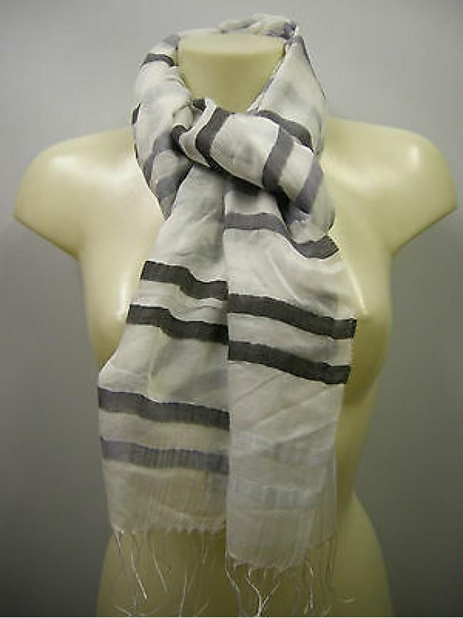 Pashmina sciarpa scarf modal SWEET YEARS art.L1461 colore 1 cenere Italy