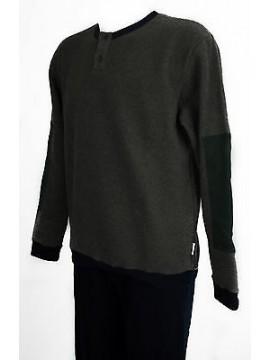 Pigiama uomo pile homewear RAGNO art.N21471 taglia L/5 colore 078F BLEU