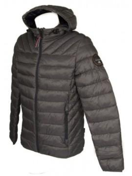 Piumino giubbotto giaccone giacca uomo con cappuccio zip e tasche NAPAPIJRI arti