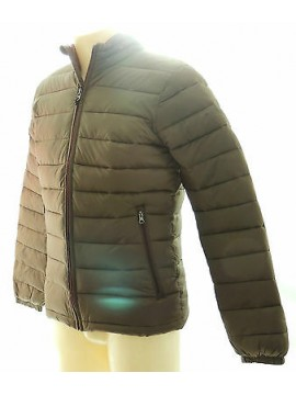 Piumino giubbotto uomo jacket man GUESS art.M34L03 T.XL col.D870 verde green