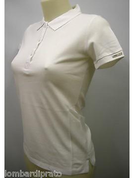 Polo t-shirt donna woman GIANFRANCO FERRE' art.POD42002 T.3 col.002 bianco white