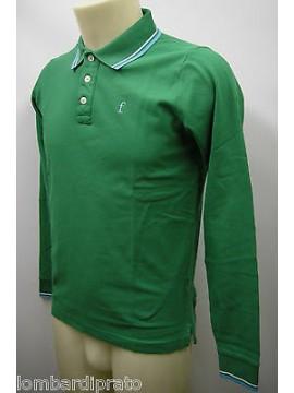 Polo t-shirt maglia uomo sweater man FERRANTE a.I35611 T.46 col.045 verde green